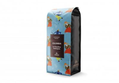 Kafijas pupiņas Columbia La claudina